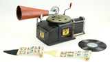 Mickey Mouse Talkie Jecktor Gramophone & Projector