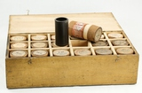 Pathe Cylinder Records in Wood Case (18)