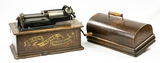 Edison Banner Front Home Cylinder Phonograph