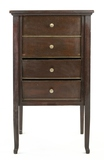 Browns Four Drawer Mahogany Disc Record Cabinet
