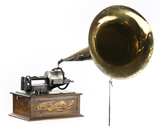 Second Style Edison Concert Cylinder Phonograph
