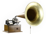 Early Style Edison Concert Cylinder Phonograph