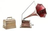 Edison Maroon Gem Cylinder Phonograph