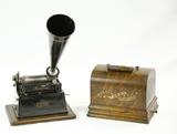 Edison Black Gem Cylinder Phonograph