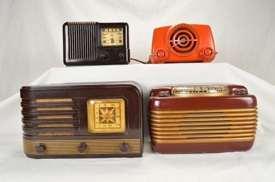 Imperial, Stromberg Carlson, Philco, Crosley Radio