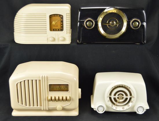 Crosley (2), Truetone, & Mantola Radios