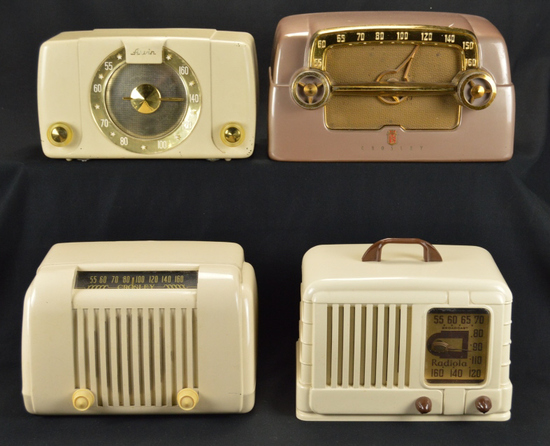 Crosley (2), Arvin, & Radiola Radios