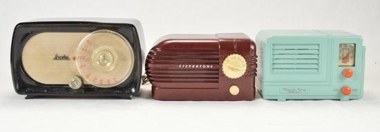 Mirror Tone, Silvertone, & Arvin Radios