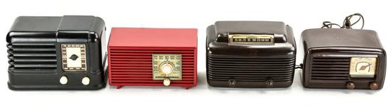 Unknown Make, Motorola, Crosley, & Philco Radios