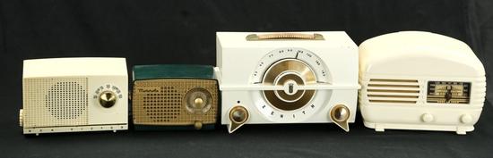 Arvin, Zenith, Motorola, & RCA Radios