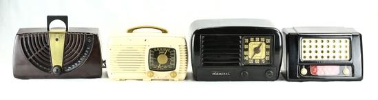 Zenith (2), Admiral, & Teletone Radios