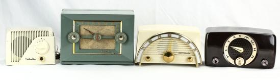 Zenith, Crosley, CBS Colombia, & Silvertone Radios