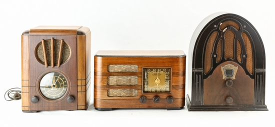 Lot of 3 Radios