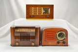Philco, Emerson, & Bendix Wood Radios