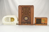 Philco, Coronado, & Emerson Wood Radios