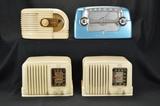 RCA (2), Zenith, & Crosley Radios
