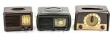 Zenith, Emerson, & Admiral Radios