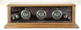 Bonadyne 3-Dial Wood Radio