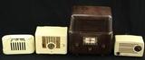 Stewart Warner (2), Emerson, & Silvertone Radios