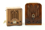 Crosley & General Electric Tombstone Radio
