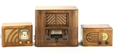 Regal Radio & Airline Wood Table Radio
