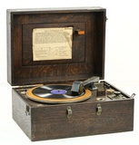 Western Electric 201A Set Turntable