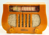 Dewald Yellow Cabinet Catalin Radio