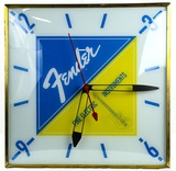 Pam Co. Fender Electric Guitar Light Up Clock