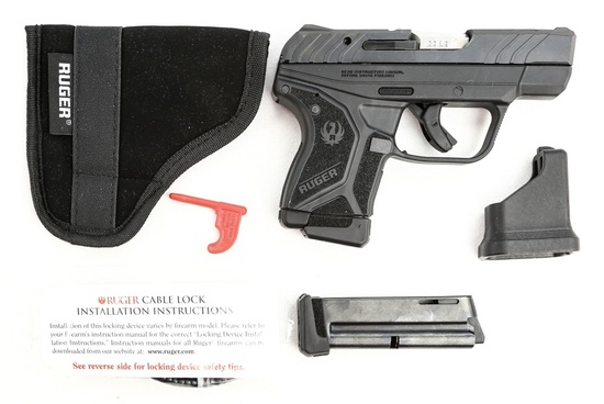 Ruger LCP II 22 Caliber