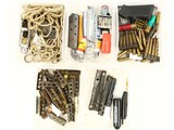 Box of Misc Stripper Clips and More