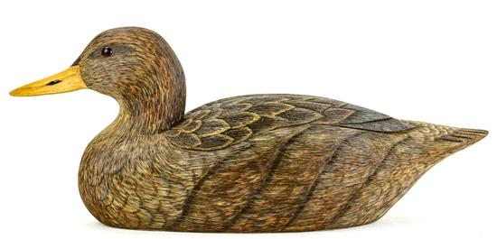 """""""Black Duck"""" Duck Decoy"""