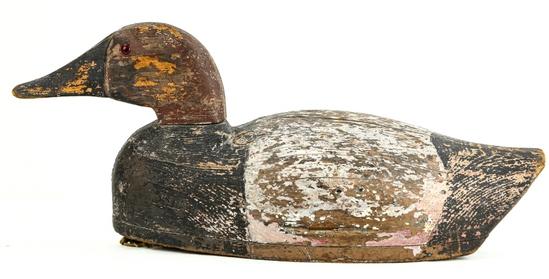 Canvasback Drake Duck Decoy