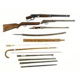 Lot of Rifle Barrels & BB Guns