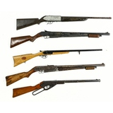 Lot of 5 BB Guns