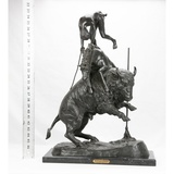 Bronze 'Buffalo Horse' Sculpture
