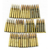 45 Rounds of Rifle Ammo on Stripper Clips