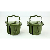 Lot of 2 Yugo MG34/MG42 Drums