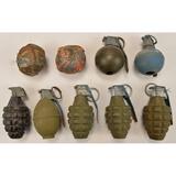 Lot of US Dummy Grenades