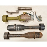 WWII US Rifle Grenades & Projector