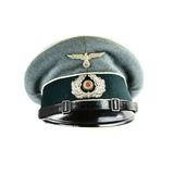 WWII German Infantry NCO Visor Cap