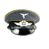 WWII German Luftwaffe NCO Visor Cap