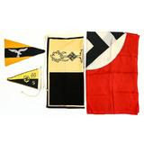 Lot of 4 Repro German Flags/Pennants