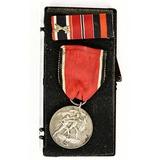WWII German Anschluss Medal & Ribbon Bar