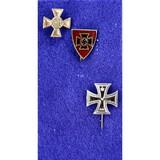 Lot of 3 German Stick Pins