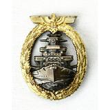 WWII German Naval Service Badge