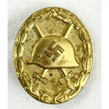 WWII German Gold Wound Badge