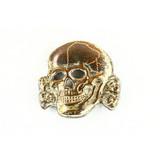 WWII German Visor Skull
