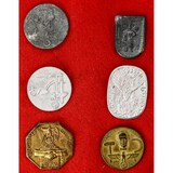 Lot of 6 WWII German Tinnies