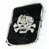 WWII German SS Death's Head Officer Collar Tab
