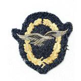 WWII Luftwaffe Glider Pilot Badge in Cloth
